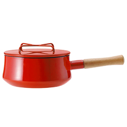 DANSK(ダンスク) コベンスタイル 片手鍋 18cm チリレッド