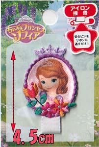 """小的公主""""索非亚""""姓名牌徽章图片"""