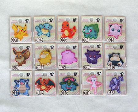 Pokemon GO seal & ironing adhesive patch