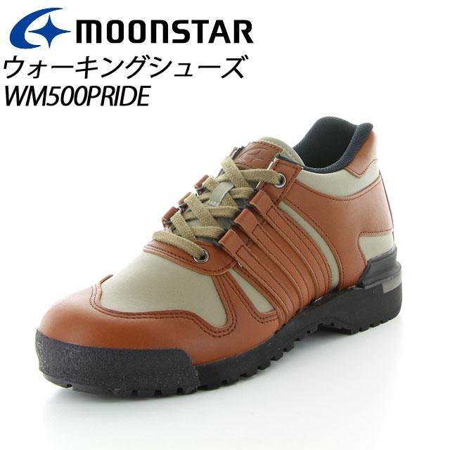 ムーンスター ワールドマーチ プライド メンズ ウォーキング WM502PRIDE オリーブ/ブラウン 30km、40Km、長距離のためのウォーキングシューズ MS シューズ