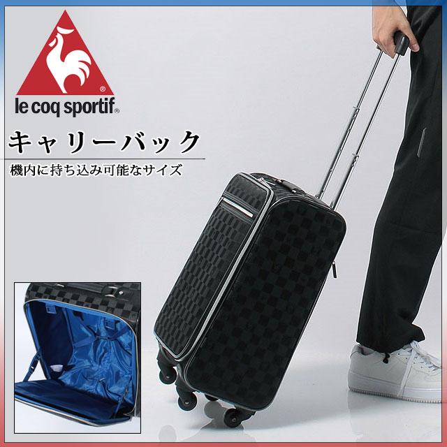 ルコック キャリーバッグ 機内持ち込み可能サイズ QA610765 サッカー キャリーバッグ