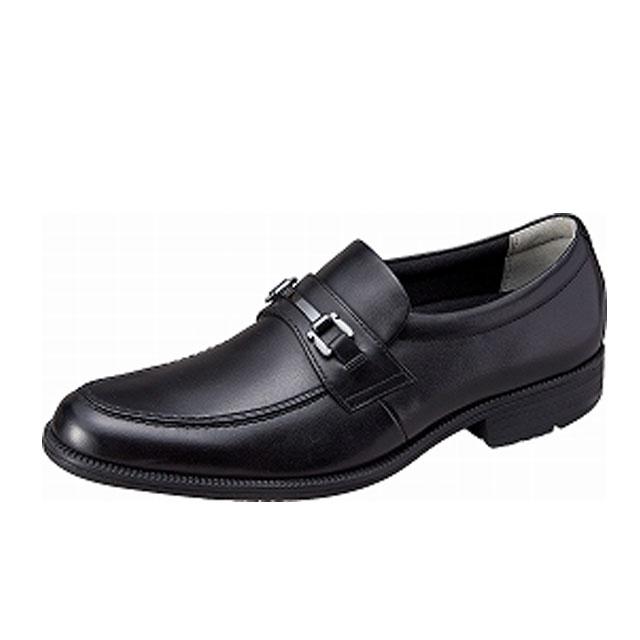 ムーンスター スポルス オム メンズ ビジネスシューズ SPH4604 ブラック 足のストレスを軽減する 高機能 メンズビジネス MS シューズ