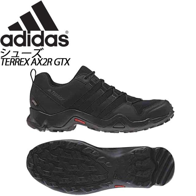 アディダス TERREX AX2R GTX コアブラック×グレーファイブ CM7715 トレッキングシューズ メンズ adidas