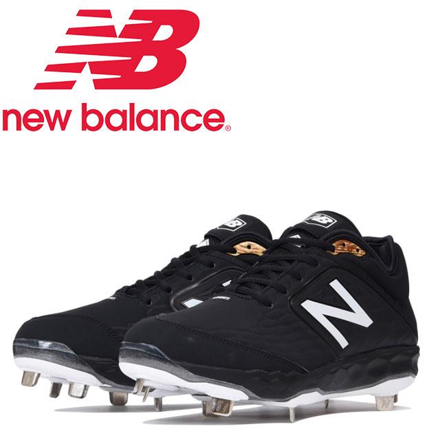 ☆ニューバランス 野球 金具スパイク L3000SK4 ブラック NEW BALANCE L3000SK4 あす楽 送料無料