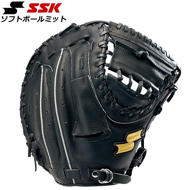 エスエスケイ ソフトボール ソフトボールミット ソフトボールゴッドナイン捕手用 SSK GNSM8020 ミット オールマイティー