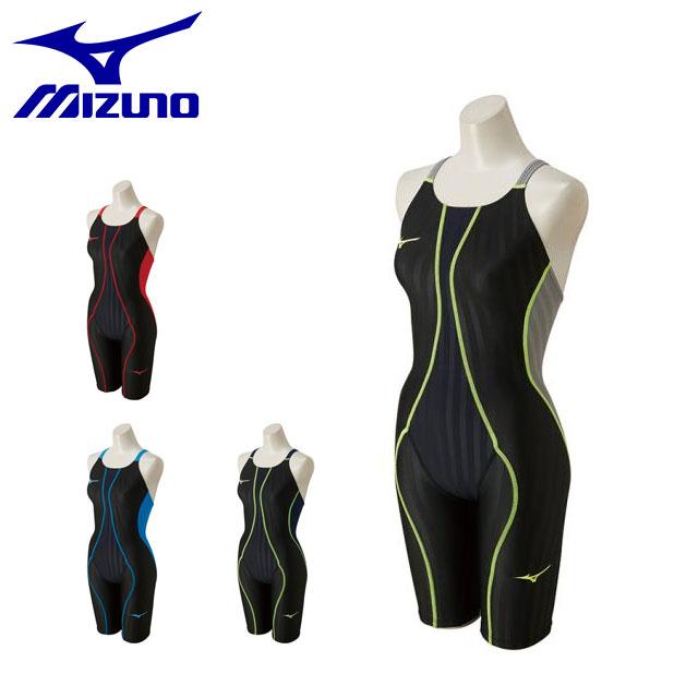 ミズノ レディース 水泳 FX-SONIC ハーフスーツ 水着 N2MG8230 MIZUNO スイム 競泳水着