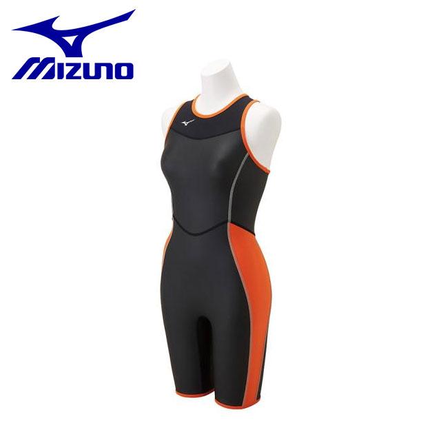 ミズノ レディース 水泳 ホットスーツSC ハーフスーツ 水着 保温 N2MG8765 MIZUNO スイム・競泳水着