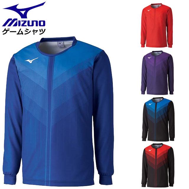 ミズノ ゲームウエア ユニセックス ゲームシャツ(長袖) V2JA8521 MIZUNO バレーボール 2018年度全日本女子チーム連動モデル