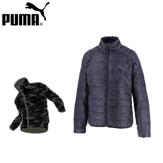 プーマ メンズ ジャケット ジップアップ 長袖 PWRWARM パッカブル LITE ダウン 撥水 PUMA 853618