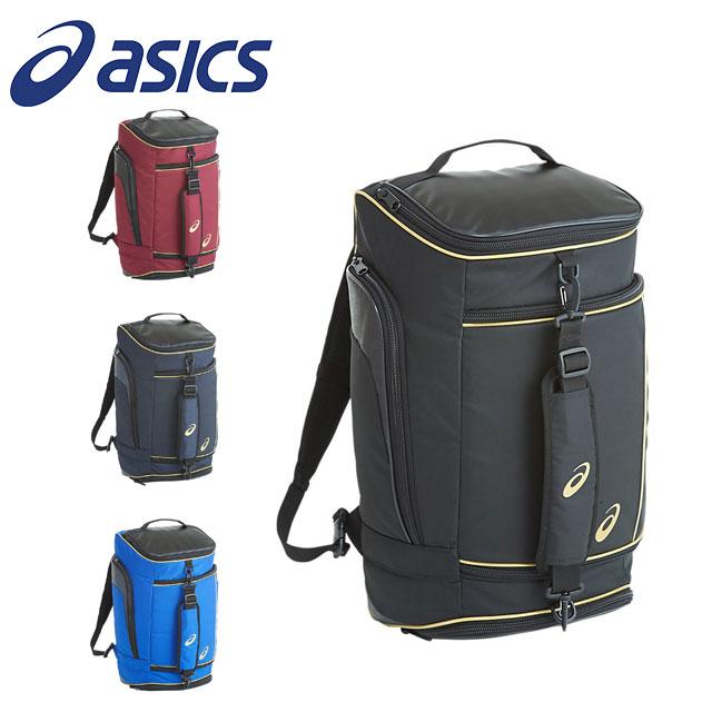 アシックス メンズ 野球 リュック バックパック バッグ 2WAYバッグ バット収納可 大型容量 約43L asics 3123A353