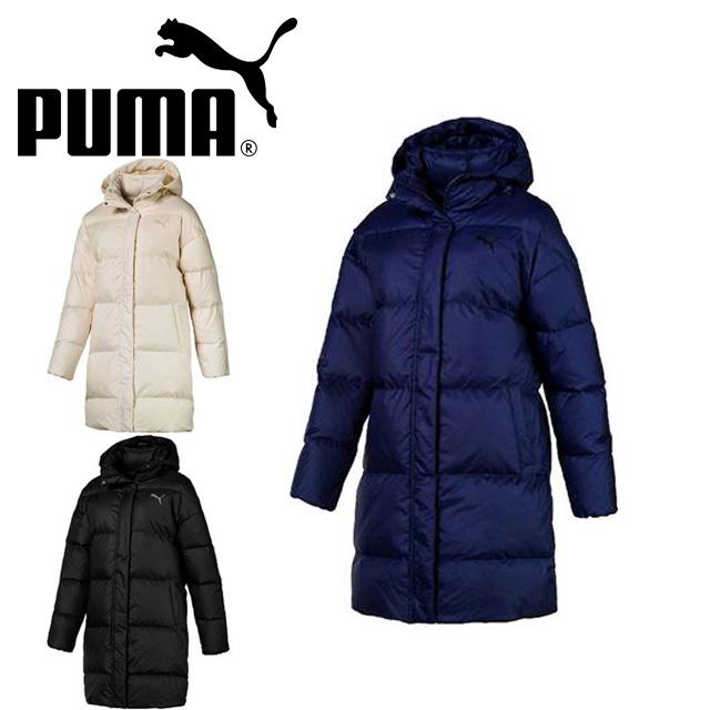 プーマ PUMA レディース ダウンコート ロング 防寒 853636