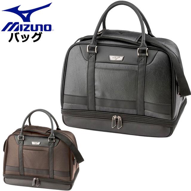ミズノ ゴルフ ボストンバッグ 2段底 MIZUNO 5LJB1902 バッグ 2段底仕様 PCポケット付き