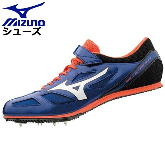 ミズノ 陸上競技 ジオストリーク4 MIZUNO U1GA1913 シューズ 靴 中距離モデル 中距離用 スピード設計 ユニセックス