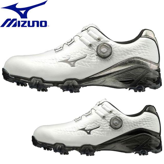 ミズノ ゴルフ ジェネム009ボア EE MIZUNO 51GP1900 スパイク シューズ 靴 スニーカー フラッグシップモデル フィット感 メンズ 一般用