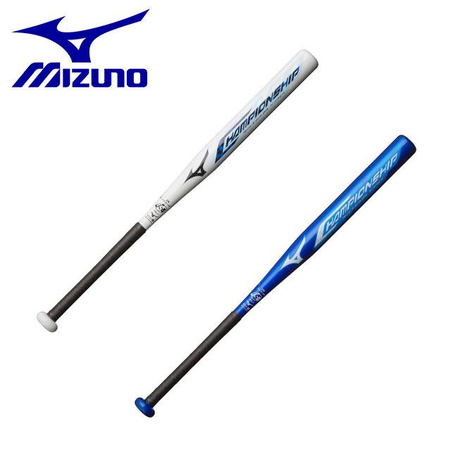 ミズノ ソフトボール バット カーボン 2号用 チャンピオンシップ 軽量 ミドルバランス 1CJFS614 MIZUNO