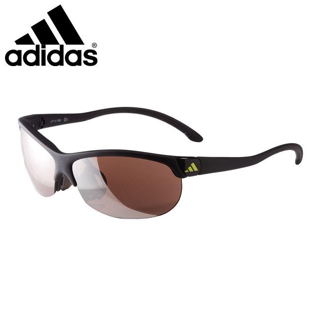 アディダス サングラス アイウエア ランニング ゴルフ アディゼロ L ADIZERO L シャイニーホワイト 超軽量 紫外線カット グリップ 角度調整機能搭載 アクセサリー 小物 A170017052 adidas