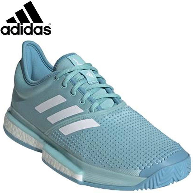 アディダス シューズ メンズ 靴 スニーカー テニスシューズ オールラウンド マルチコート テニス 24.5-30.0 SOLECOURTBOOSTMMC adidas CG6339