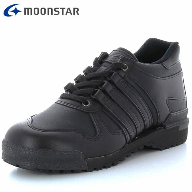 ムーンスター ウォーキングシューズ メンズ ワールドマーチ プライド WM500PRIDE ブラック 48255001 MS 長距離向け 3E より快適な歩きやすさを追求 靴