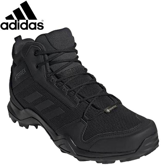 アディダス シューズ メンズ 靴 スニーカー TERREXAX3MIDGTX トレッキングシューズ ミッドカットブーツ ファストトレッキング 防水性 クッション性 アウトドア 登山 トレッキング 用具 小物 アクセサリー 245-330 adidas BC0466