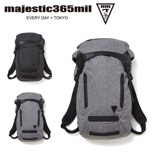 マジェスティックミル メンズ レディース リュック バックパック バッグ カバン 約20L ユニセックス majestic365mil MM1001