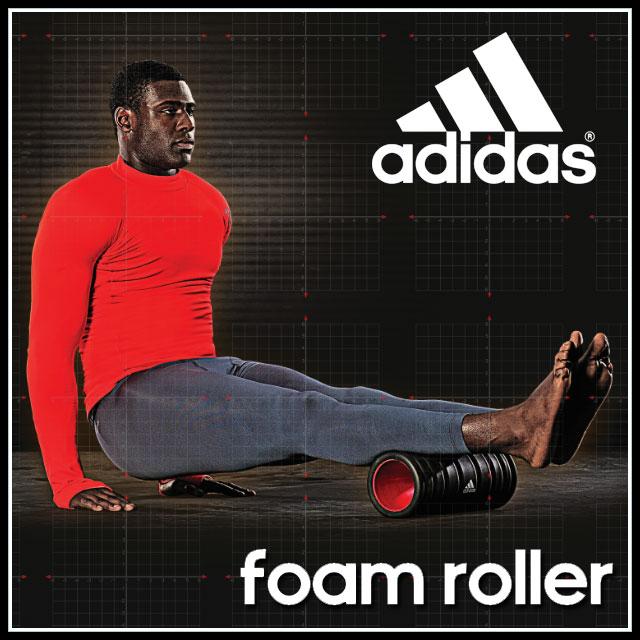 ポイント10倍! adidas (アディダス) フィットネス トレーニング 用品 ADAC11501 フォームローラー 筋トレ ジム