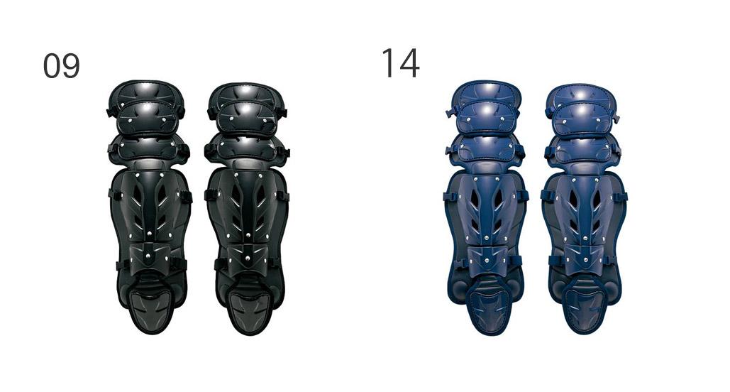 ミズノ MIZUNO 野球 キャッチャーズギア <ミズノプロ>硬式用レガーズLサイズ 2YL127
