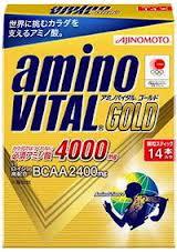 味の素 amino VITAL アミノバイタル BCAA アミノ酸サプリメント 16AM4010 アミノバイタル ゴールド 14本入箱×5
