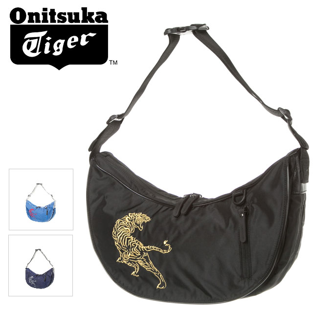 ☆ Onitsuka Tiger onitsukataigashorudabaggusasuke虎刺绣EOT439人