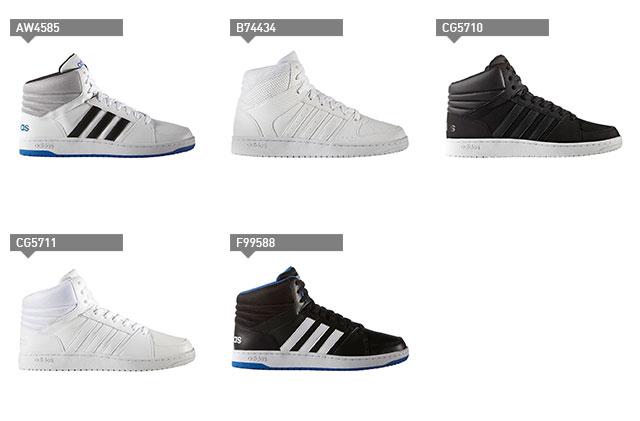 ☆아디다스레디스스니카 23.0~29.0 cm밋드캇트네오후프스 adidas NEOHOOPS CS MID 밧슈스타일