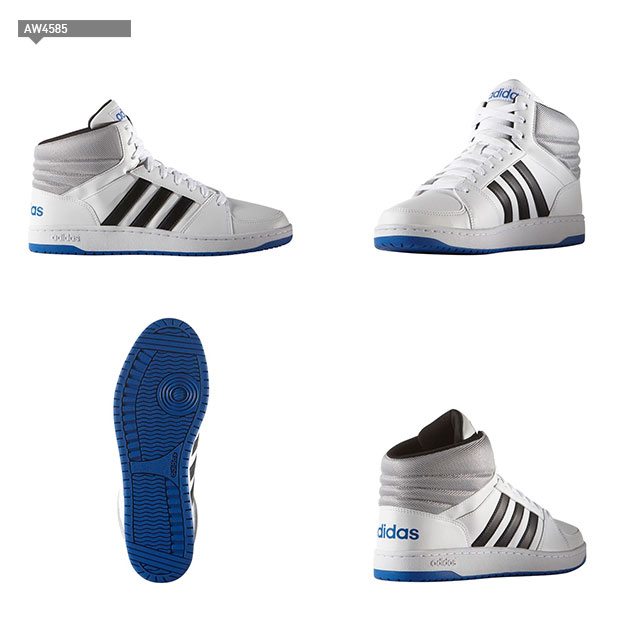 ☆ ☆ adidas (adidas) high cut sneakers BB90S color-block sports shoes basketball freestyle its NEO GJU77 men's shoes