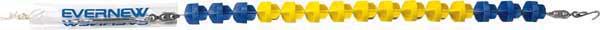 エバニュー EVERNEW 水泳 EHB325 コースロープ ES7525 プール 体育用品