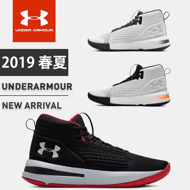 アンダーアーマー メンズ バスケットボールシューズ スニーカー 靴 バッシュ UA ジェットMid 軽量 通気性 反発力 3020620