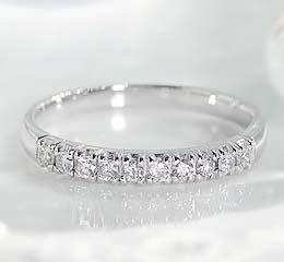 pt900 0.2ct ダイヤモンド エタニティ リング 出産祝 当店おすすめ 年始 年末バーゲン 非売品