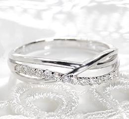 pt900 0.20ct ダイヤモンド リング