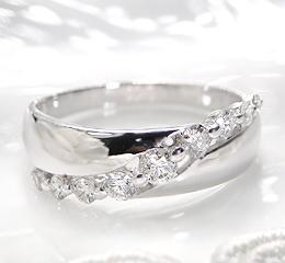 pt900 0.40ct ダイヤモンド リング