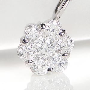 Pt900 ダイヤモンド ペンダントジュエリー アクセサリー ネックレス ペンダント フラワー 可愛い 人気 ダイヤモンド ダイア ダイヤ プラチナ PT900 送料無料 品質保証書 代引手数料無料 プレゼント ラッピング済み