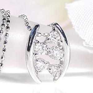 K18WG【0.25ct】ダイヤモンド ペンダントジュエリー アクセサリー ダイヤモンド ネックレス ダイヤ ペンダント ダイヤ ネックレス ホワイトゴールド 18k 18金 送料無料 品質保証書 代引手数料無料 プレゼント ラッピング済み