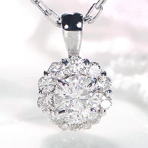 K18WG/YG/PG 0.16ct ダイヤモンド ペンダントジュエリー アクセサリー ネックレス ダイヤペンダント フラワー 可愛い 人気 ダイヤモンドネックレス ダイア ゴールド 送料無料 品質保証書 代引手数料無料 プレゼント ラッピング済み