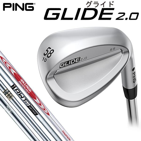 ピン GLIDE 2.0 グライド2.0 ウェッジ スチールシャフト [2017年モデル]   【ポイント10倍(8/27 9:59まで)】 [有賀園ゴルフ]