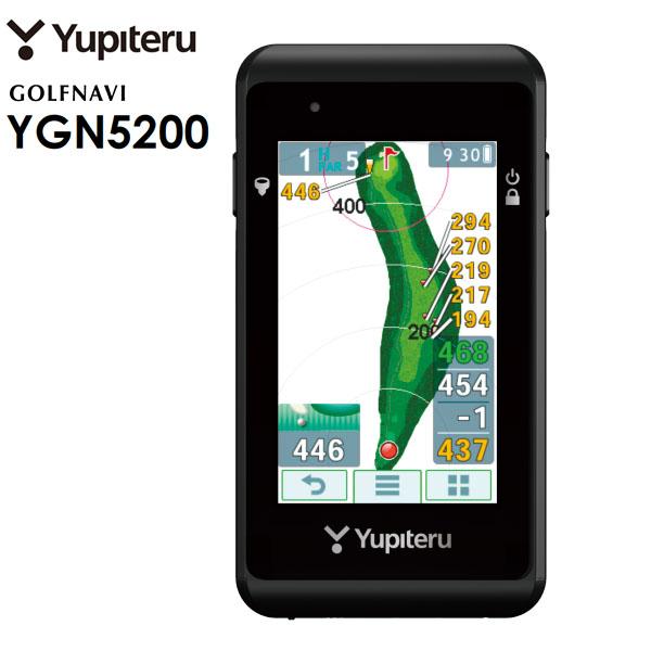 ユピテル Yupiteru GOLF GPSゴルフナビ YGN5200 「勝算」 [2017年モデル]  【あす楽対応】 【ポイント10倍(12/27 9:59まで)】 [有賀園ゴルフ]