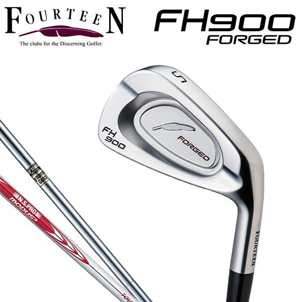 フォーティーン FH-900 フォージド アイアン 6本セット(#5~9、PW) スチールシャフト [2017年モデル]  [有賀園ゴルフ]