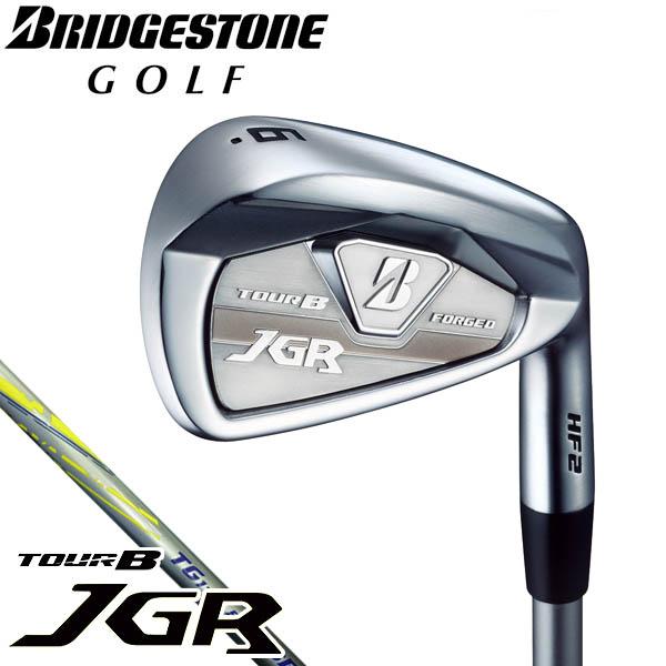 ブリヂストン メンズ TOUR B JGR HF2 アイアン 単品 TG1-IR カーボンシャフト[2018年モデル] [有賀園ゴルフ]