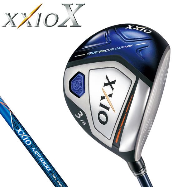 ダンロップ メンズ XXIO X TEN ゼクシオ 10 テン フェアウェイウッド (ネイビー) MP1000 カーボンシャフト [2018年モデル] [有賀園ゴルフ]
