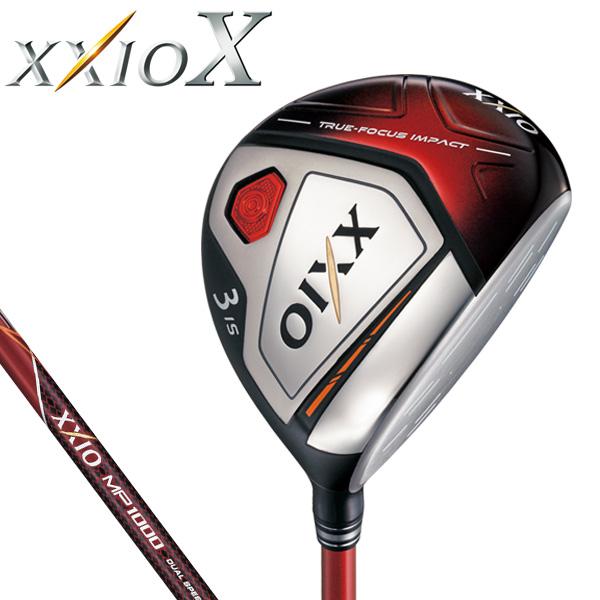 ダンロップ メンズ XXIO X TEN ゼクシオ 10 テン フェアウェイウッド (レッド) MP1000 カーボンシャフト [2018年モデル] [有賀園ゴルフ]