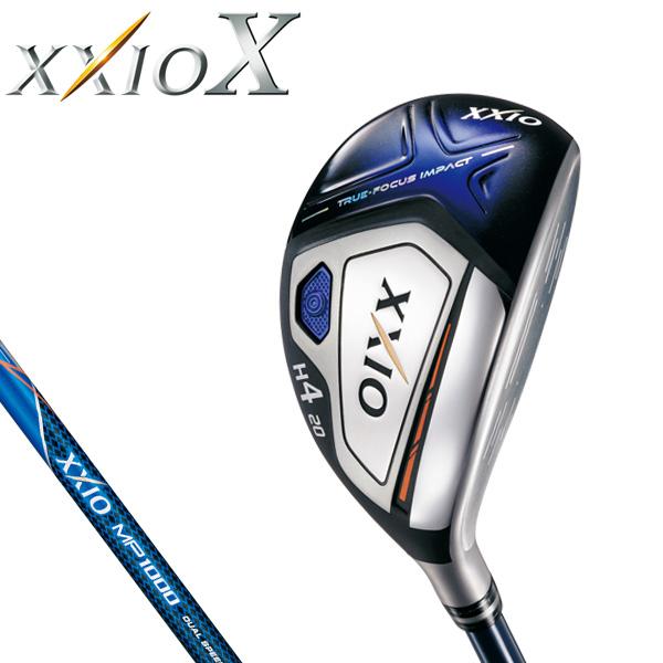ダンロップ メンズ XXIO X TEN ゼクシオ 10 テン ハイブリッド ユーティリティ (ネイビー) MP1000 カーボンシャフト [2018年モデル] [有賀園ゴルフ]