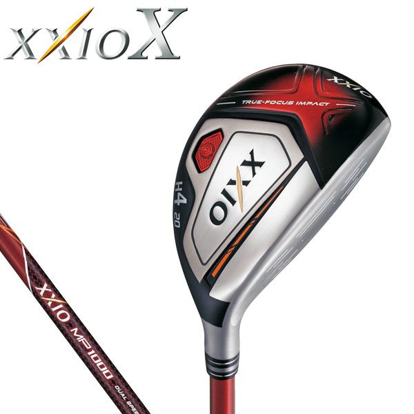 ダンロップ メンズ XXIO X TEN ゼクシオ 10 テン ハイブリッド ユーティリティ (レッド) MP1000 カーボンシャフト [2018年モデル] 特価 [有賀園ゴルフ]