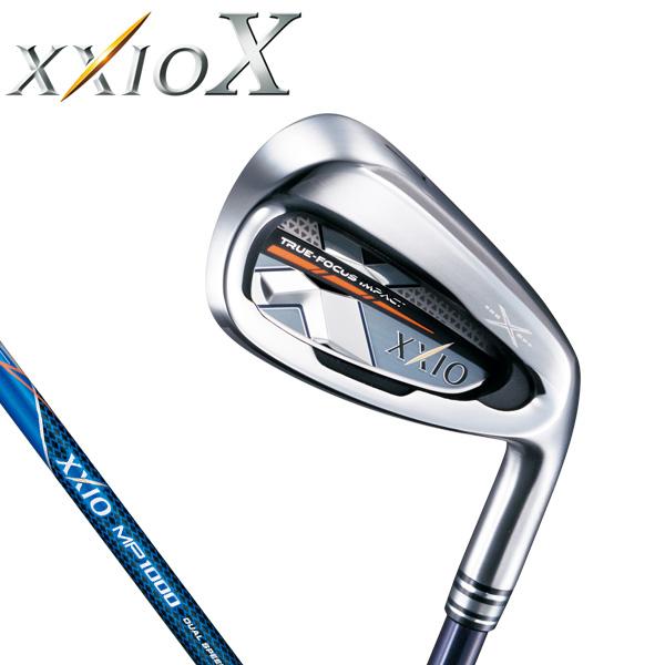ダンロップ メンズ XXIO X TEN ゼクシオ 10 テン アイアン (ネイビー) 5本セット(#6~9、PW) MP1000 カーボンシャフト [2018年モデル] [有賀園ゴルフ]