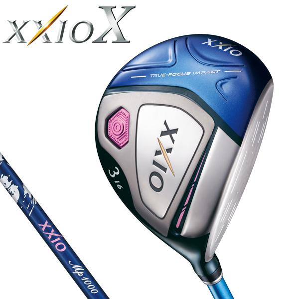 ダンロップ レディス XXIO X TEN ゼクシオ 10 テン フェアウェイウッド (ブルー) MP1000L カーボンシャフト [2018年モデル] [有賀園ゴルフ]