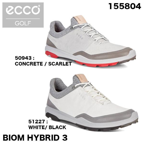 ecco エコー メンズ BIOM HYBRID3 ゴルフシューズ 155804 [2018年モデル] 【あす楽対応】 【ポイント10倍(4/27 9:59まで)】 [有賀園ゴルフ]
