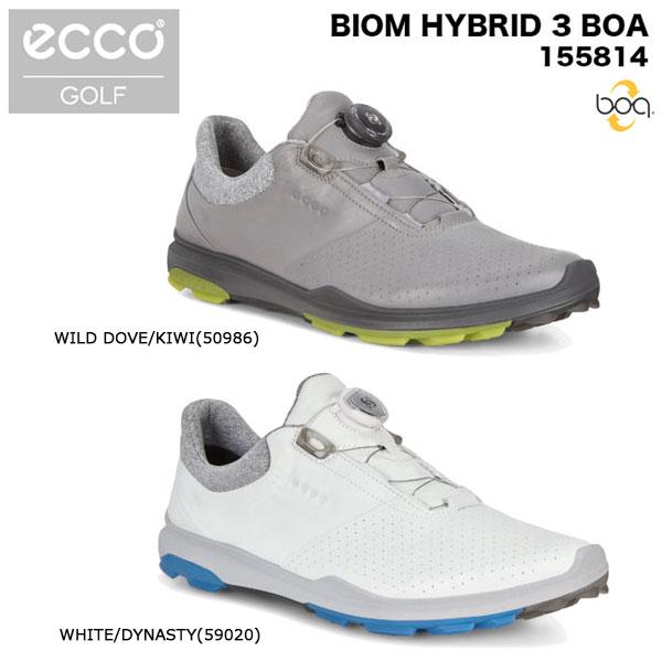 ecco エコー メンズ BIOM HYBRID3 BOA ゴルフシューズ 155814 [2018年モデル]  【ポイント10倍(11/27 9:59まで)】 [有賀園ゴルフ]